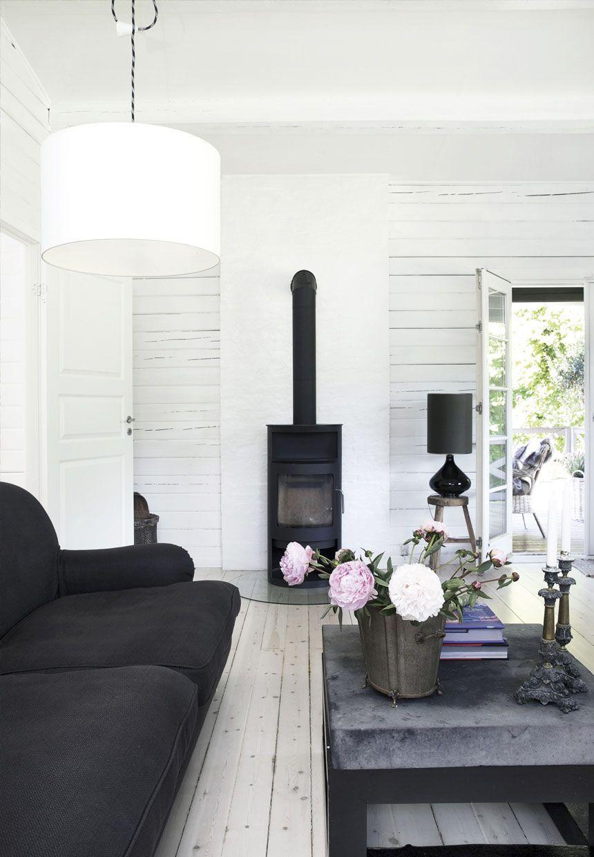 skandinavische interieur woonkamer scandinavisch design zomerhuis interieurs cottage interieurs herenhuis open