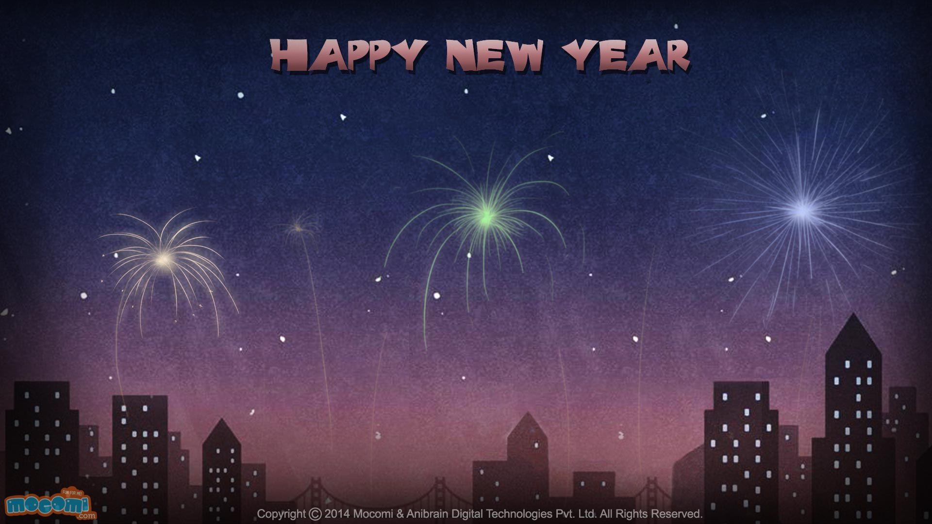 Happy New Year Wallpaper 12 Desktop Wallpaper for Kids