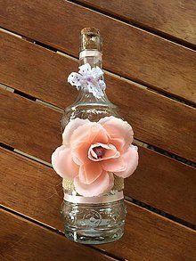 Dekorácie - Dekoračná fľaška\