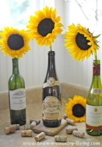 Image result for wine sunflowers