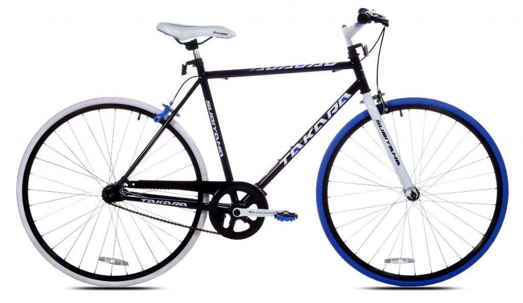 Takara Sugiyama Flat Bar Fixie Bike Bearing The Most Eye Catching