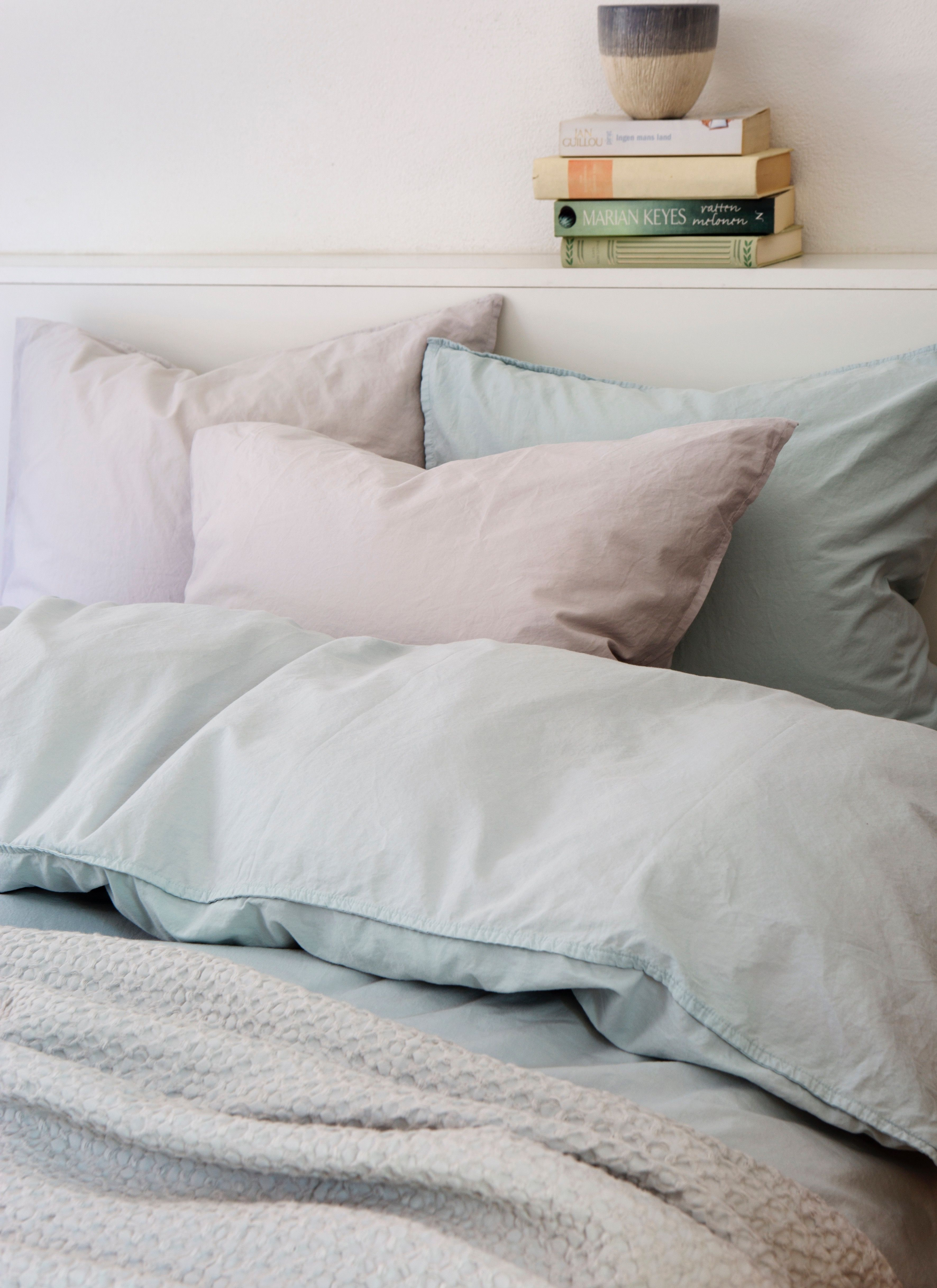 himla hope our bed linen in organic cotton percale brings a