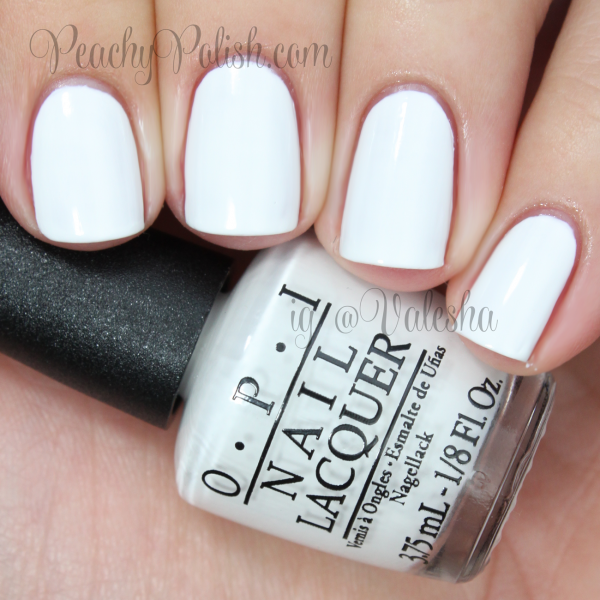 Opi Quot Alpine Snow Quot Peachy Polish Opi Nail Polish Colors Nail Polish White Gel Nails