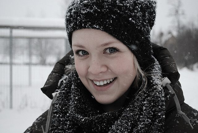 Snowing On My Friend Christine Beauty Around The World Beautiful Norwegian People