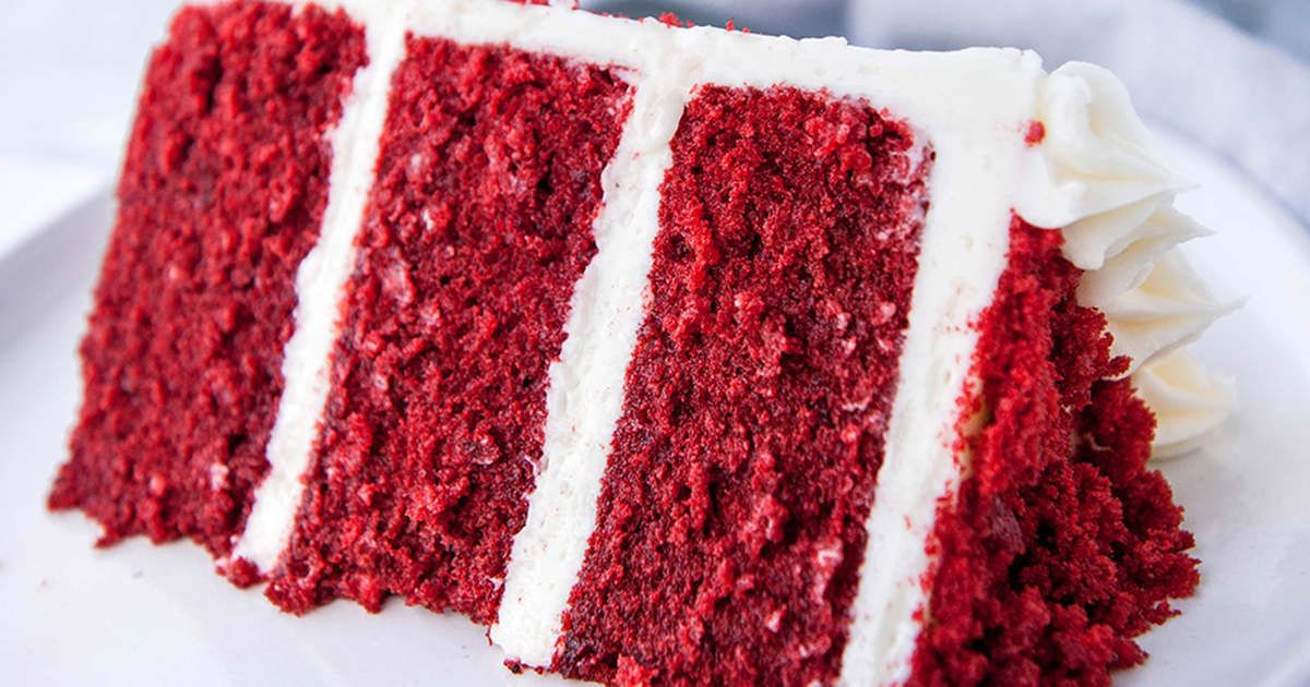 Classic Red Velvet Cake Recipe Cream Cheese Frosting Sugar Geek Show Recipe In 2020 Red Velvet Cake Velvet Cake Velvet Cake Recipes