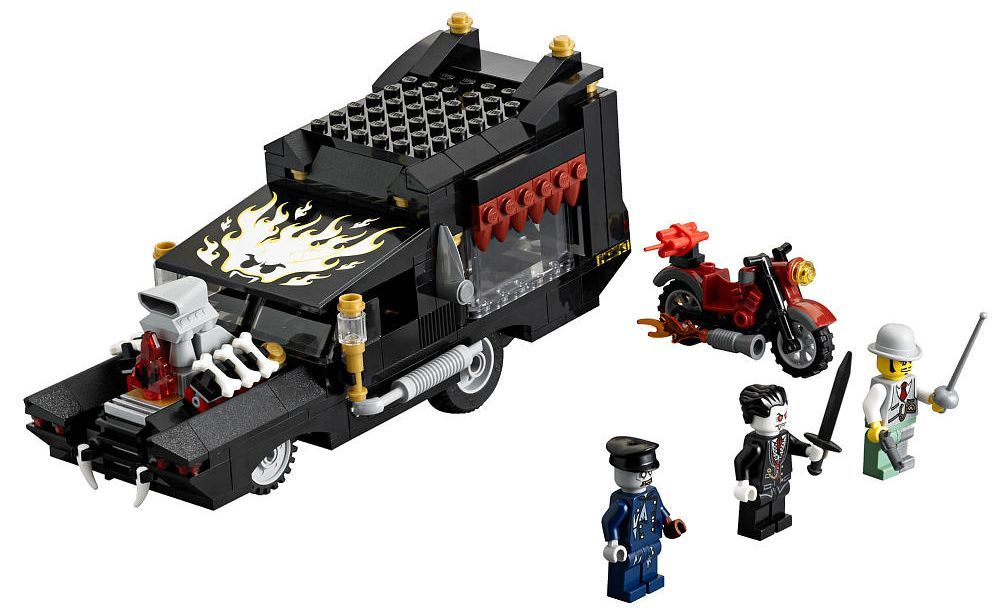 lego monster fighters 9464 the vampyre hearse - Lego Monstre