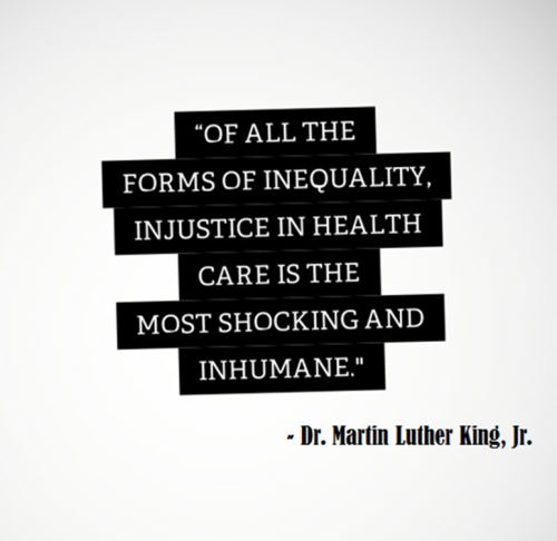 Of All The Forms Of Inequality Injustice In Healthcare Is The