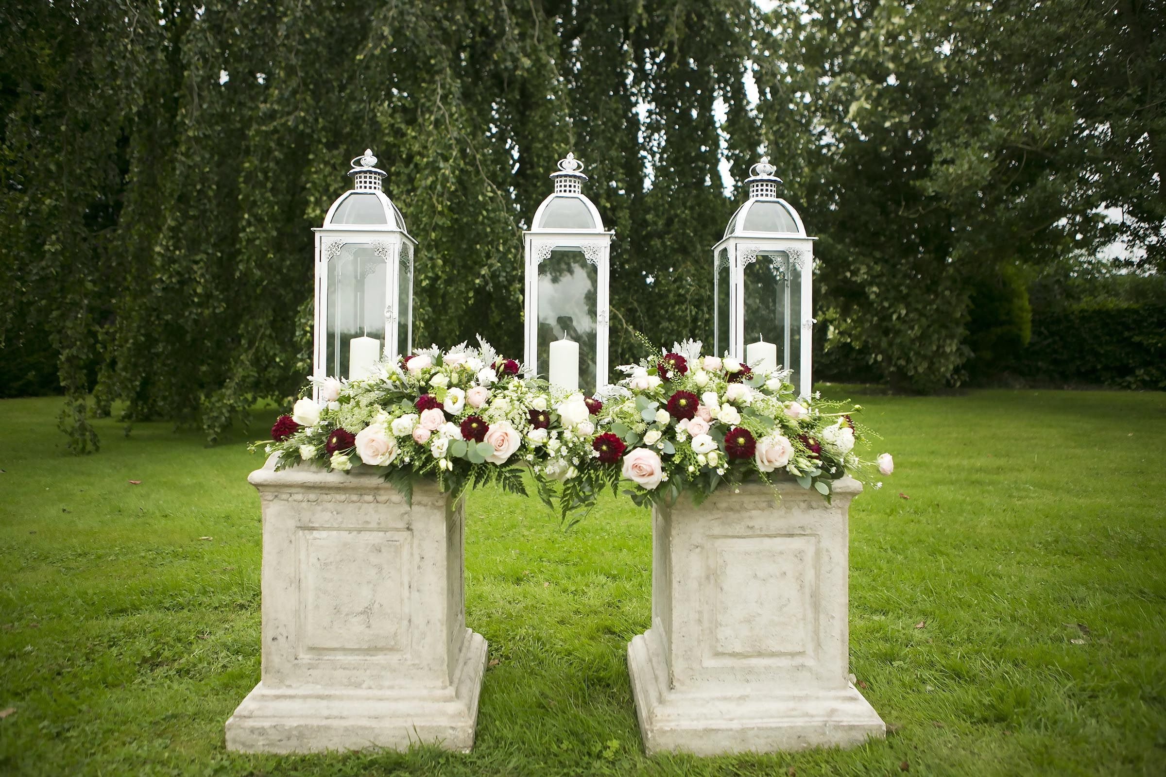Even if you choose to have a outdoor wedding ceremony, you
