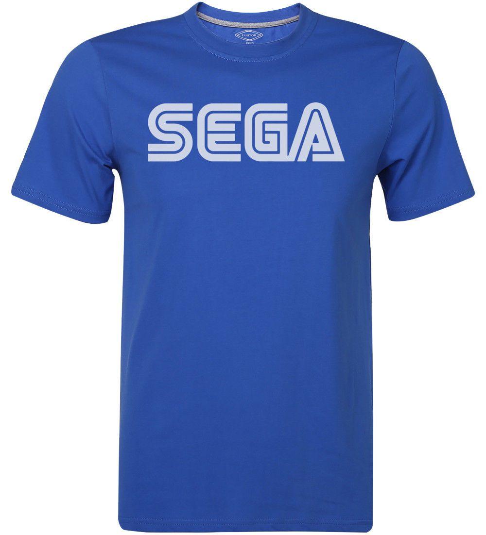 Sega T Shirt 80s 90s Retro Old School 8 Bit 16 Bit Video Game Genesis Gamer Tee