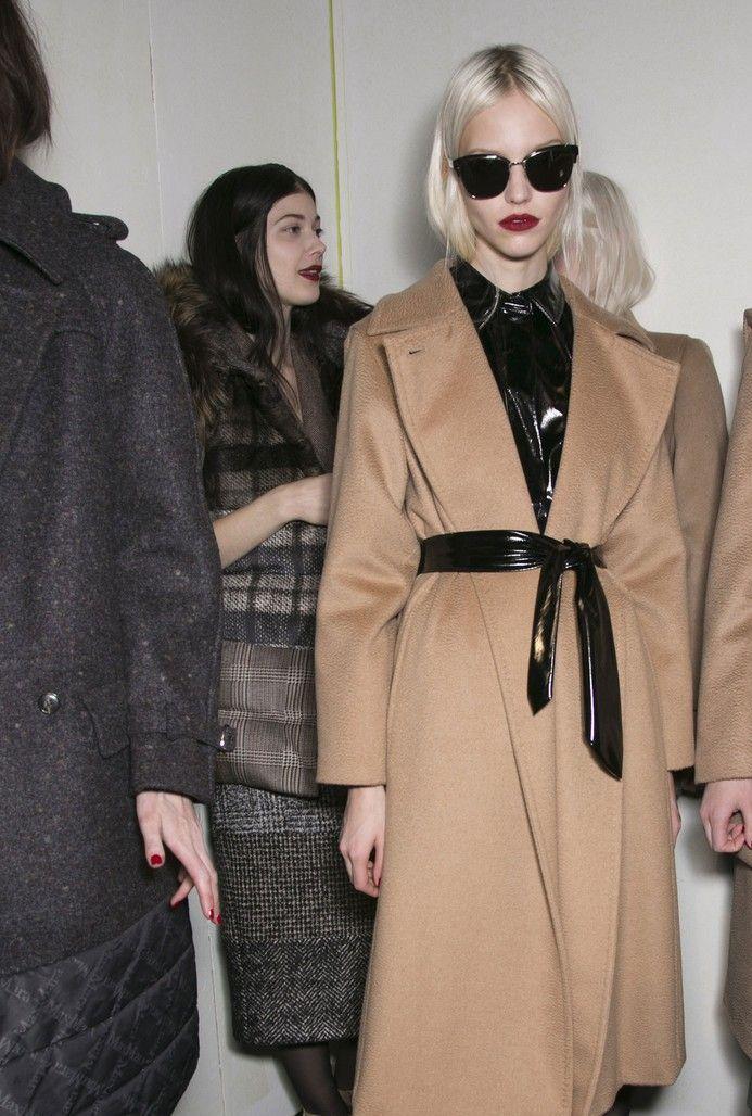 Sasha Luss & Kasia Struss for Max Mara Studio Fall Winter 2013