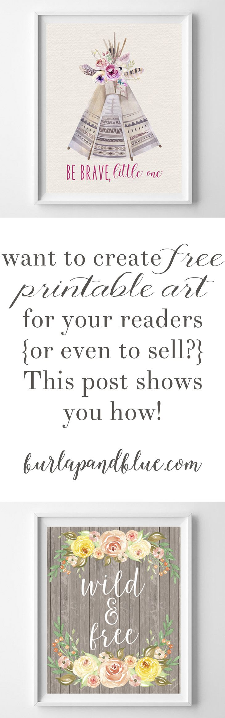 how to create free printables #craftstosell