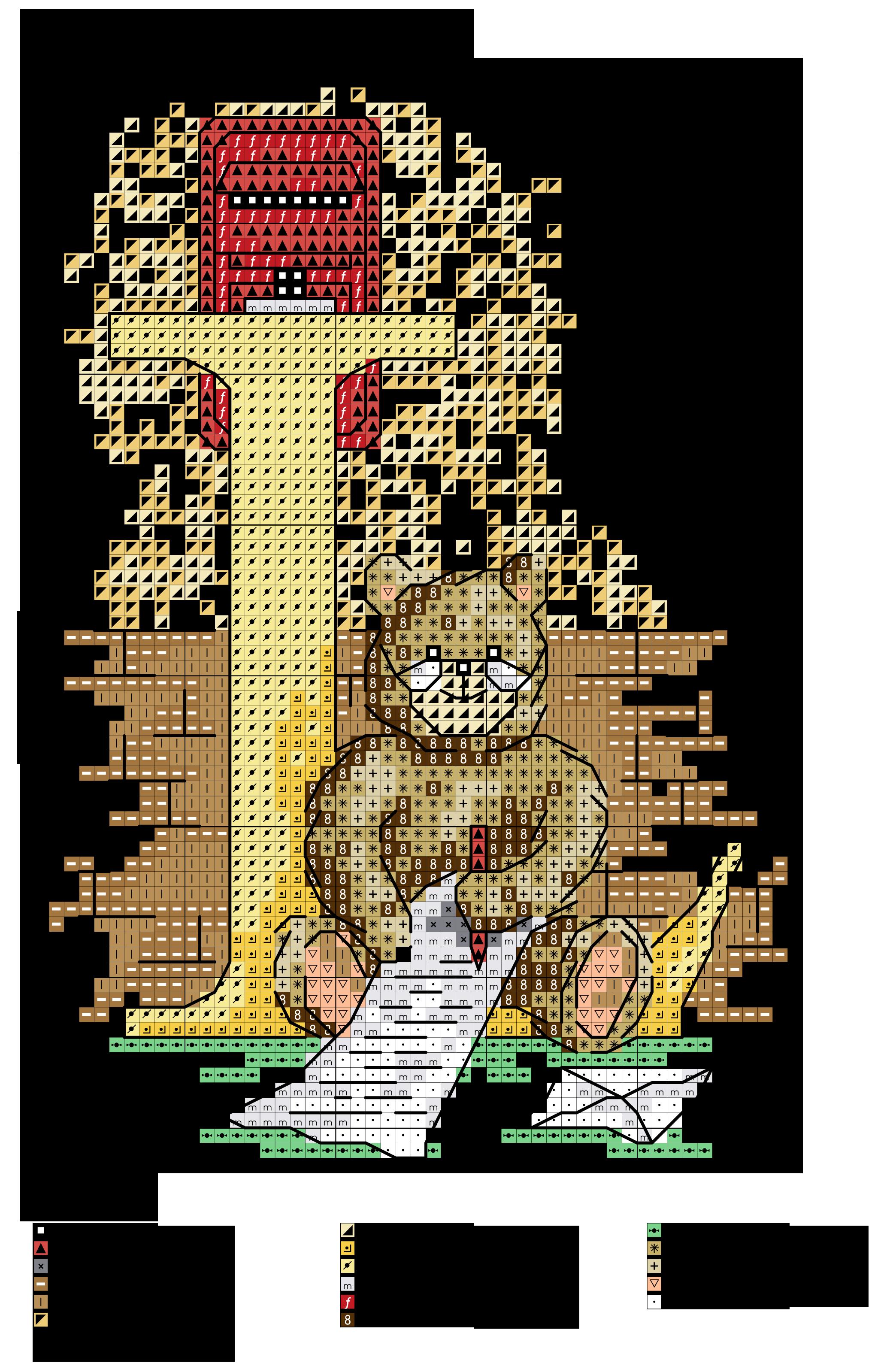 Alfabeto orsetti al lavoro l alfabeti a punto croce for Ricamo punto croce lettere