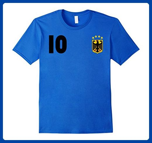 89714dfb4 Mens German Football Team Jersey Germany Soccer Team Tee Shirt Small Royal  Blue - Sports shirts