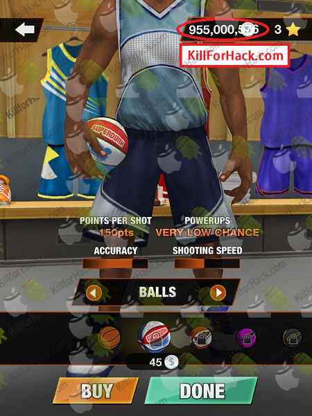 Baller Legends Hack Cheats for iOS Android Devices