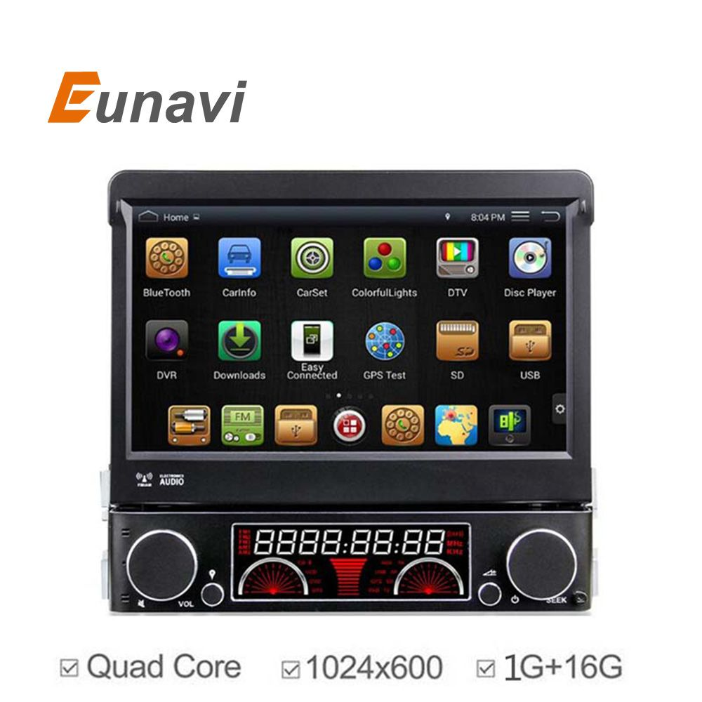 Ly Pure Android 1 Din Car Dvd Player Universal With Gps Navi
