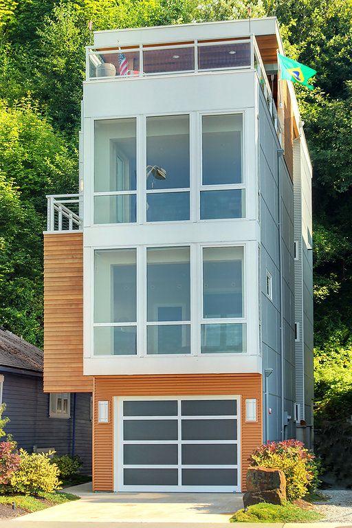 narrow escapes small house designnarrow - Sw Small House Plans