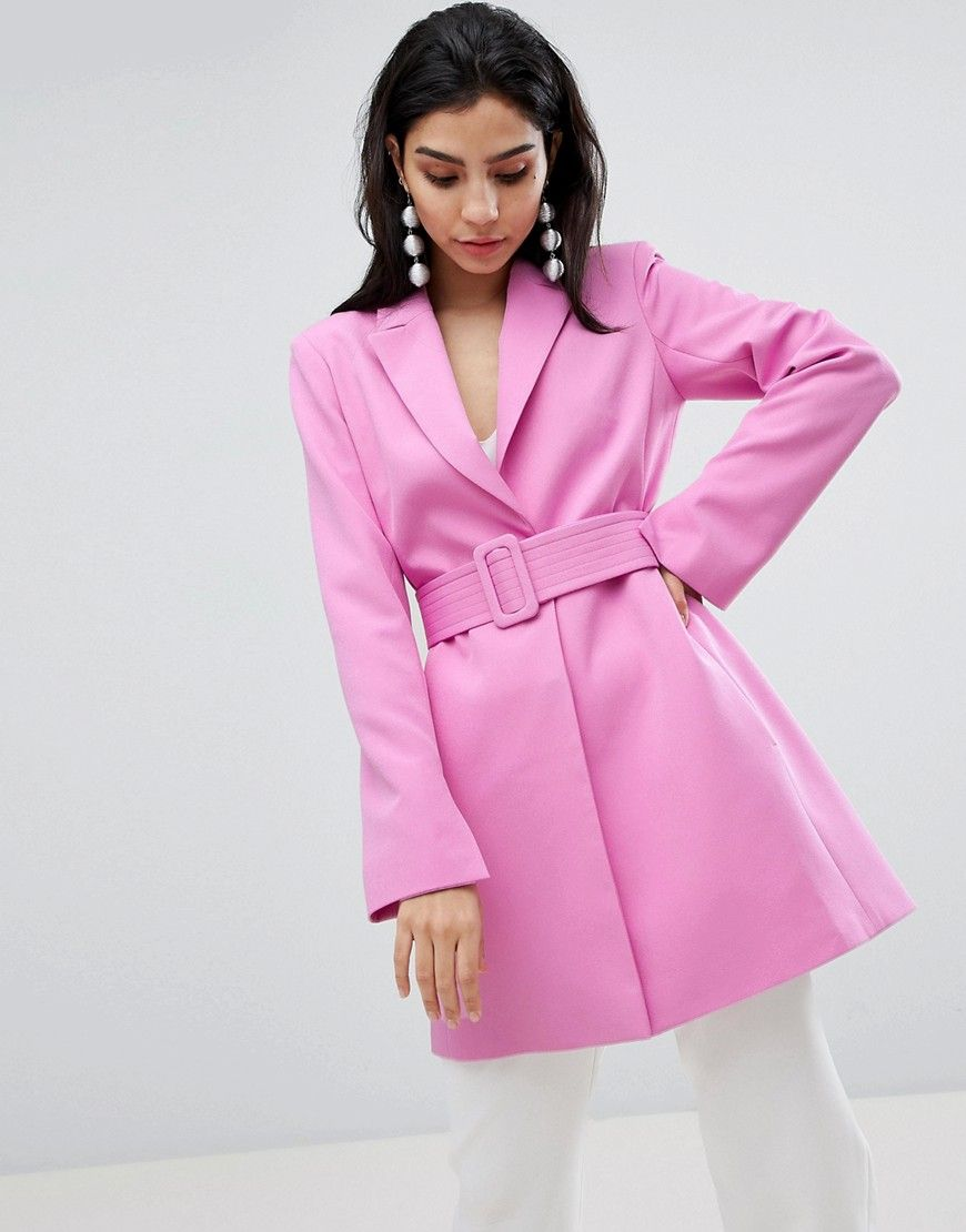 Kleid lang rosa asos