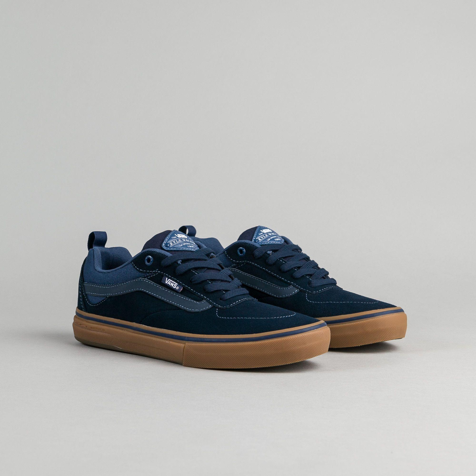 Vans Kyle Walker Pro Shoes - Dress Blues   Gum  f06f01e5b