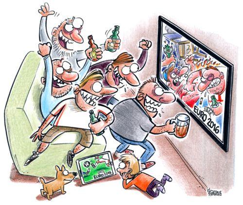 Www Karikatura Lv Gatis Sluka Euro2016 Cartoon Mycartoons Tv