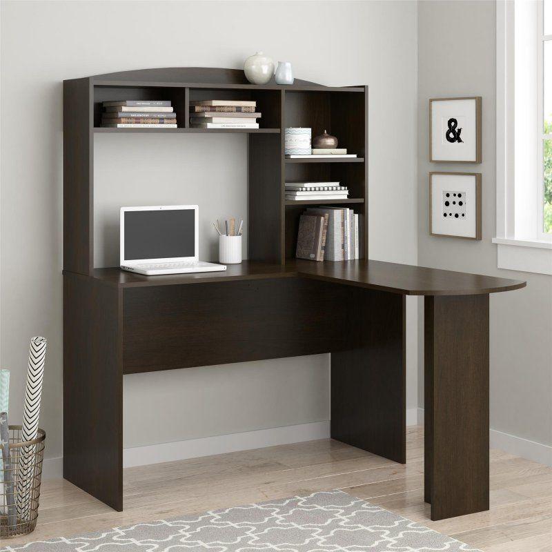 Altra Furniture Sutton L Shaped Desk With Hutch 9883
