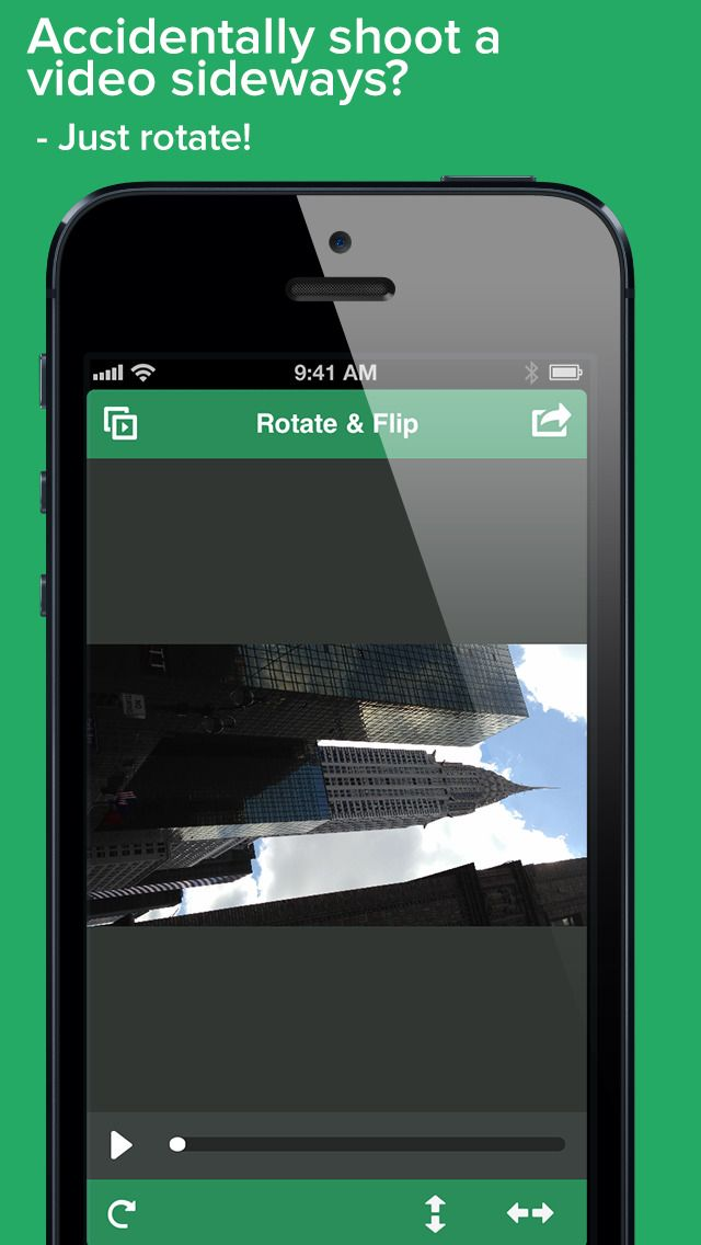 Video Rotate And Flip On The App Store Photo Apps Ios News Video