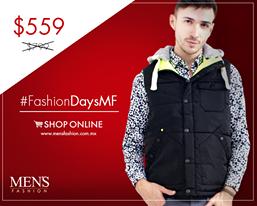 Un chaleco #Lmental te dará ese look aventurero que buscabas. #FashionDaysMF #RegaloDeNavidad   Compra aquí: www.mensfashion.com.mx