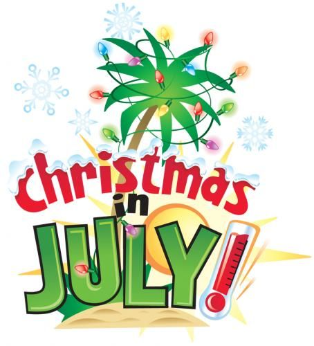 Fun Christmas In July Ideas.Christmas In July Fundraiser Food Fun And A Visit From St