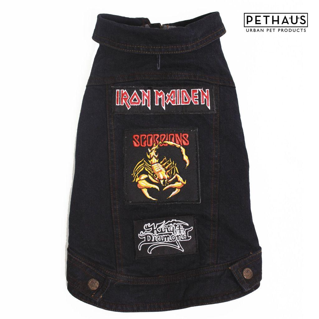 Battle Jacket For Dogs  King Diamond, Iron Maiden