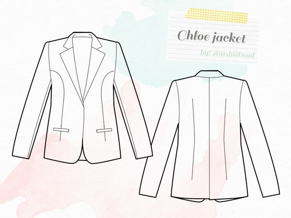 stardustsoul: Chloe Jacket Sewing Project: Inspiration