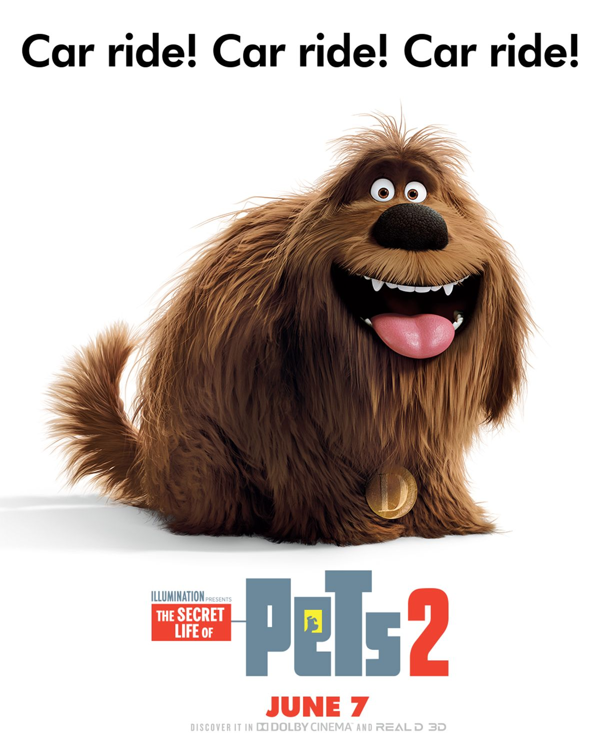 Eric Stonestreet Is Duke The Pets Return This Summer In The New Movie The Secret Life Of Pets 2 Coming To Theater Secret Life Of Pets Secret Life Pets Movie