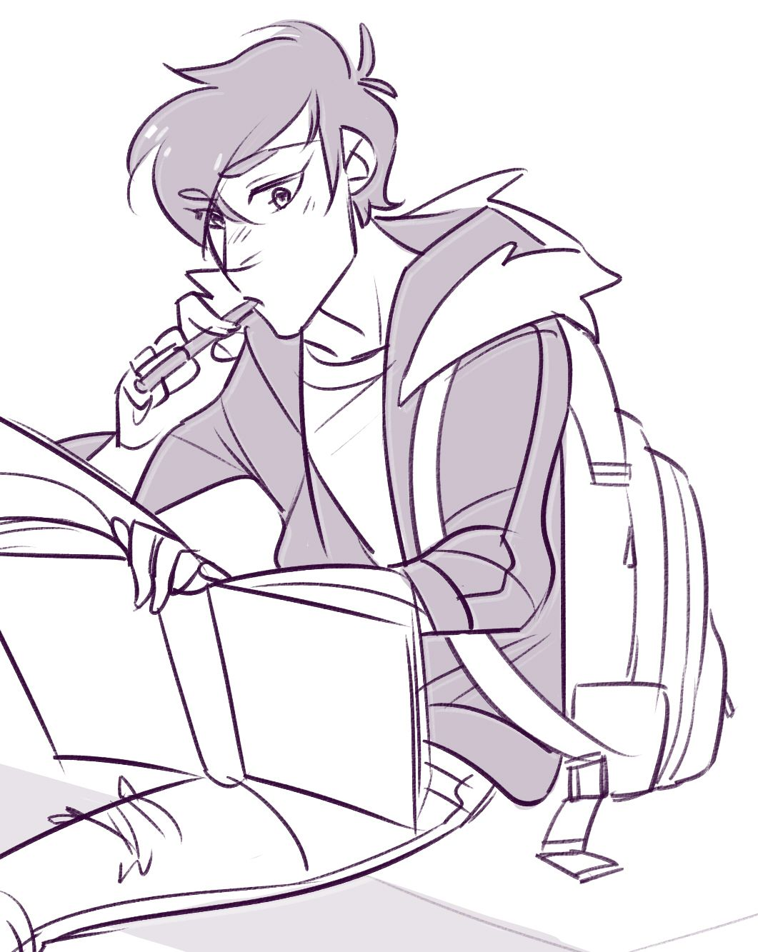 young shiro studying astrophysics on his own time before being Stealth Pick Up shiro studying astrophysics on his own time before being picked up from school