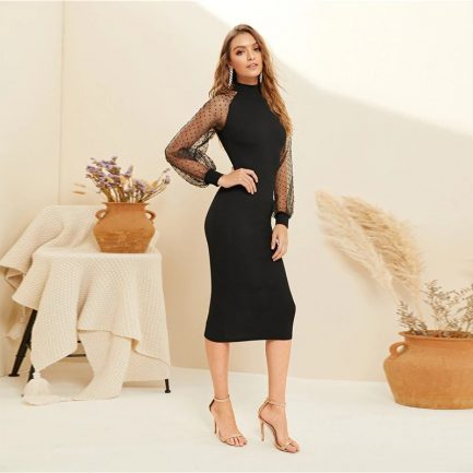 Party Black or Blue Pencil Bodycon Dress With Jacquard2 #holidaysale #Christmassale #Christmasdeals #Sales #Deals #Holidayoffers #Christmasoutfit #Christmasoffers #holidayoutfit