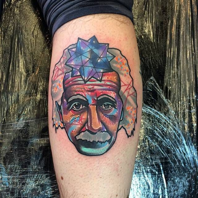 The Surreal Galactic Psychedelic Tattoos Of Andrew Marsh