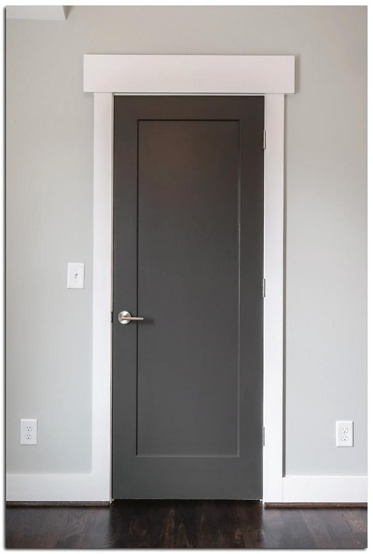 Minimalist Modern Door Design Ideas Grey Interior Doors White Interior Doors Interior Door Trim