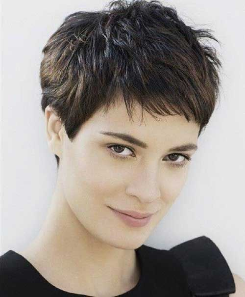 10 Choppy Pixie Haircuts Cut 2016 Haircuts Pinterest Cortes De