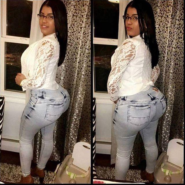 Ig Iromy1217, Iromy Perez  Real Or Fake  White Jeans -9605