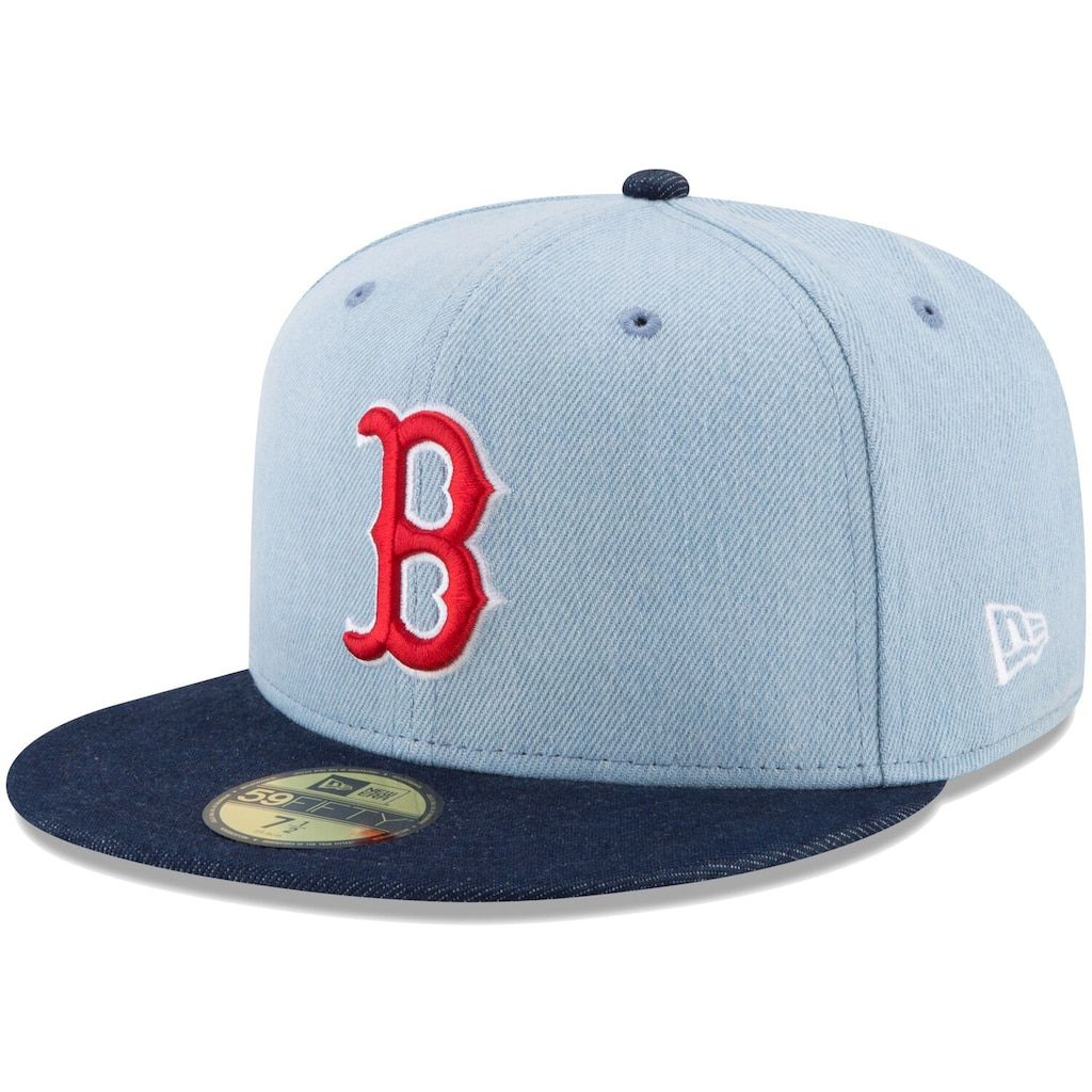 Boston Red Sox Unisex Cap New Era Black Red Baseball Hat Mlb Size