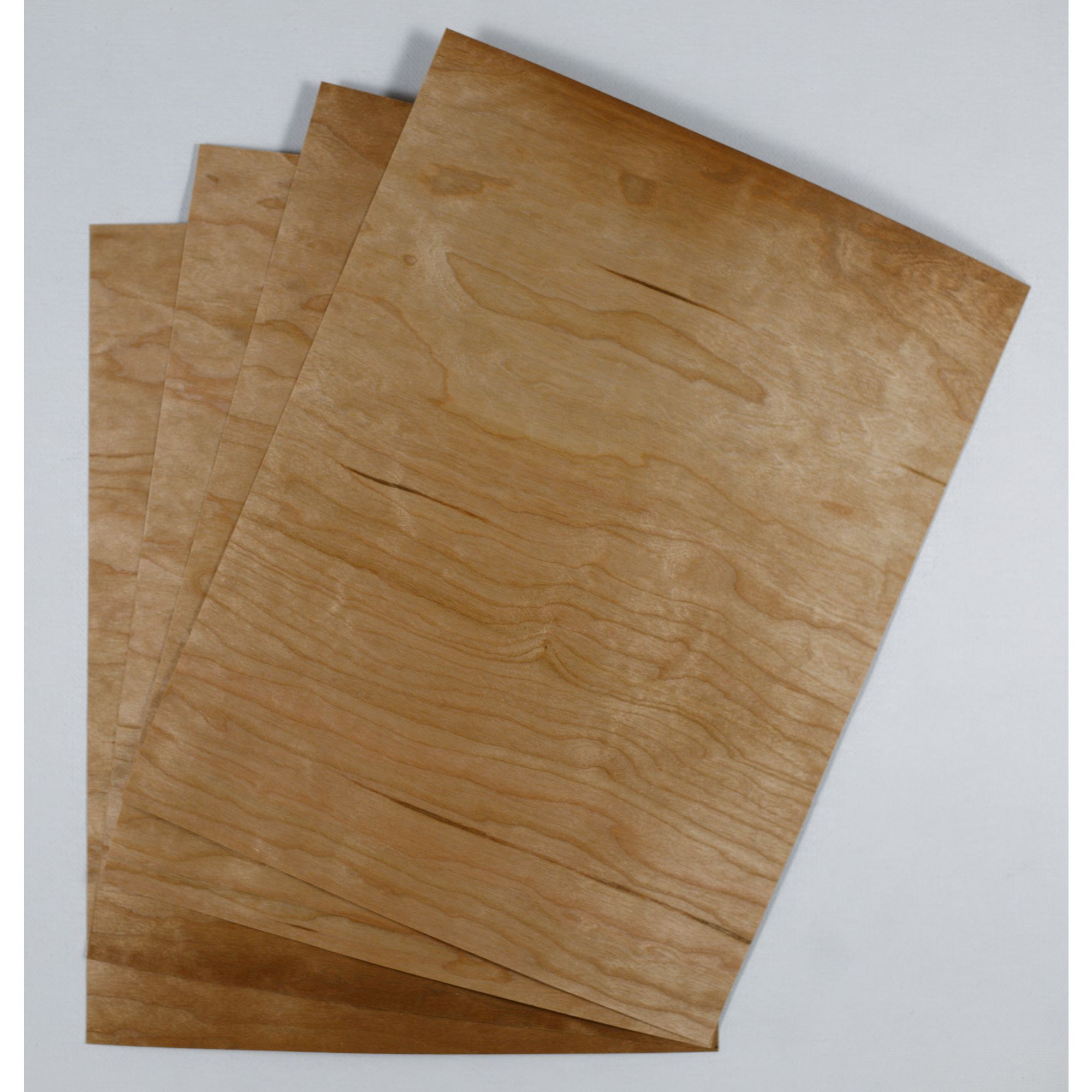 Crafters Wood Paper 8 5 X 11 12pt Cherry Veneer Sheets With Kraft Back Wood Veneer Wood Veneers