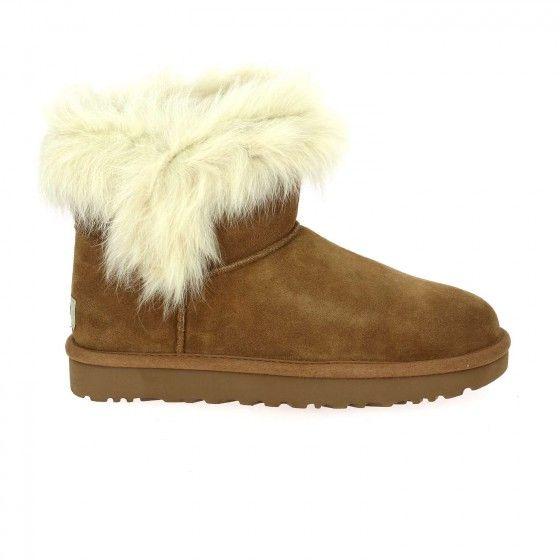 00410b73bf55 Boots fourrées châtaigne UGG MILLA - Bessec-chaussures.com ...