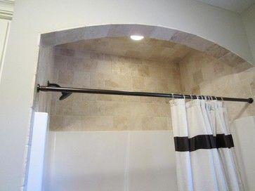 tiling around shower insert | shower stall, bathrooms
