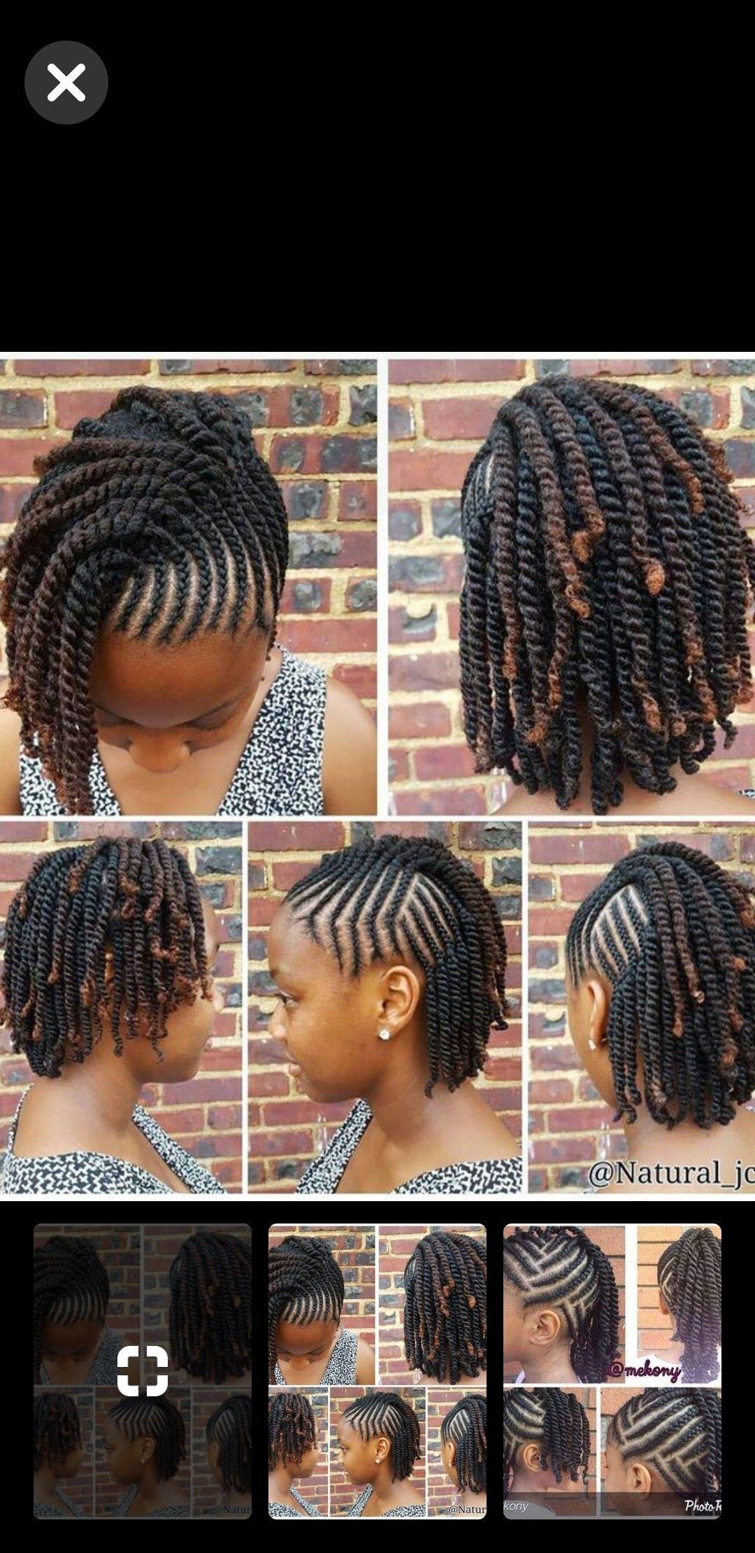 Pin By Zainab Conteh On Kids Natural Hair Braids Braided Hairstyles Girl Hairstyles