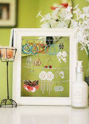 frame for jewelry, cards, and other stuff