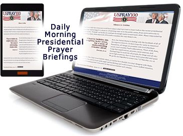 "The Presidential Prayer Team introduces USPRAY100TM - a nation-wide call to all who believe in the power of prayer to commit to praying for President-Elect Donald Trump and his administration for the first 100 days in office.  Sign up to receive early morning daily ""Presidential Prayer Briefing"" by email. It contains news and information gathered from our relationships established in Washington, D.C. and inside the White House, encouraging participants to pray for those trending items. Not…"