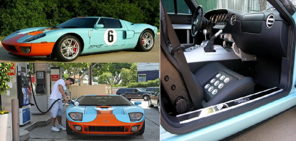John Mayers Ford Gt Is On Ebay With A Buy It Now Price Set At