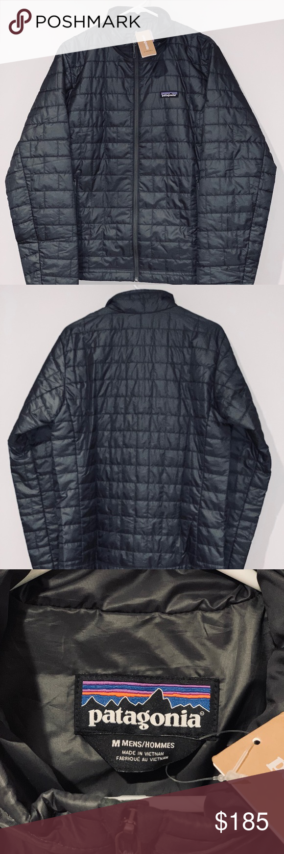 : Patagonia Men's Nano Puff Jacket (Medium, Forge
