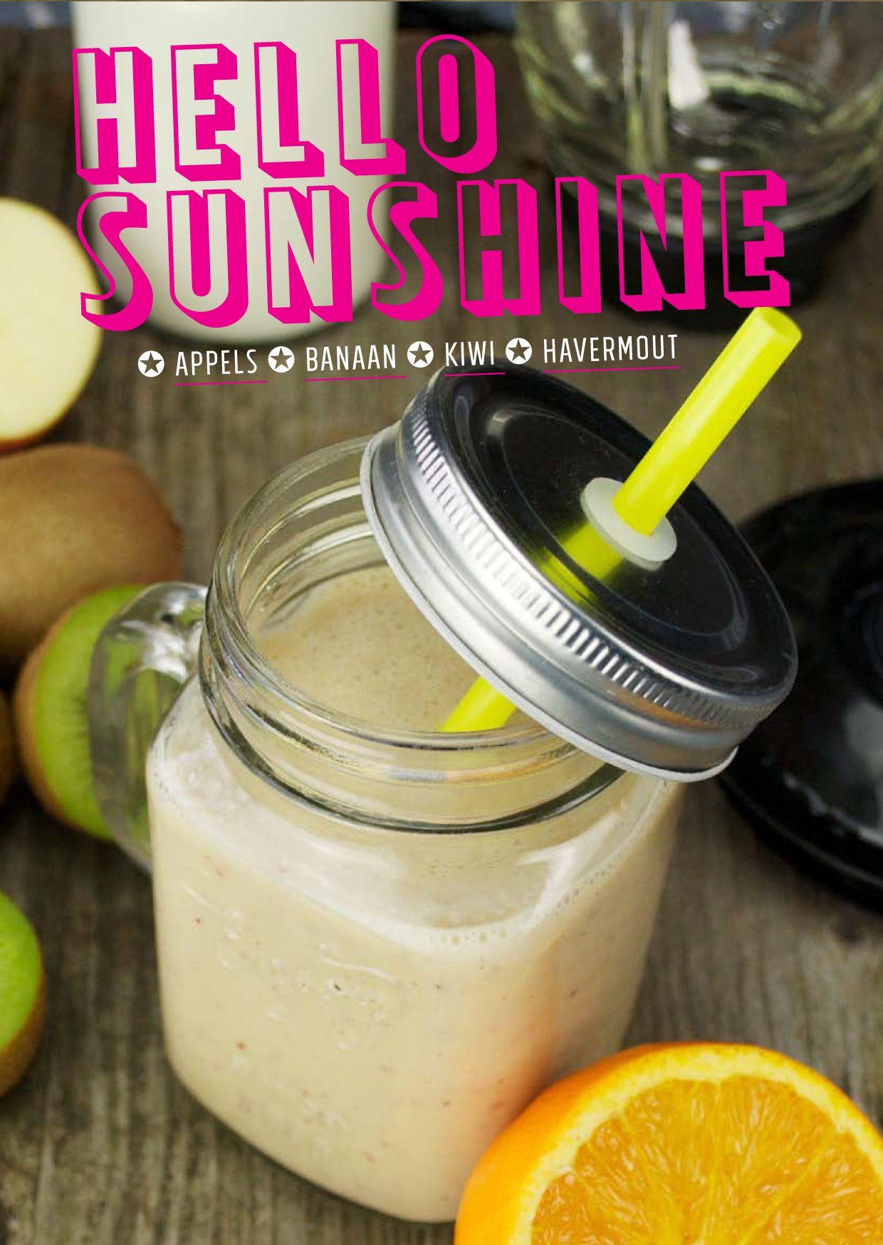 smoothie banaan appel yoghurt