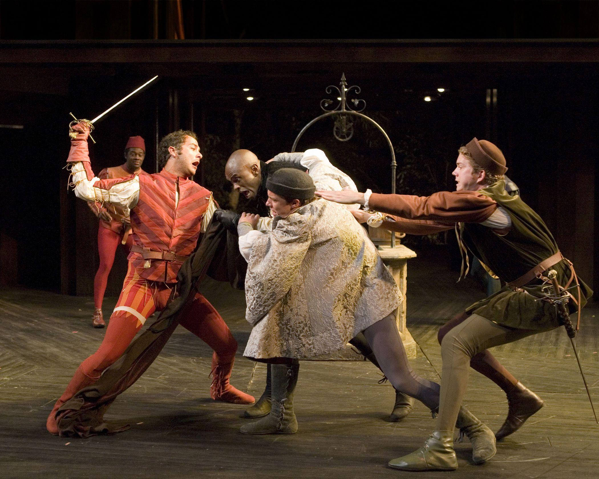 L R Anthony Von Halle A Tybalt Owiso Odera Mercutio Graham Hamilton Romeo And Michael Kirby Shakespeare Festival Juliet Old Globe Antigone Scene 1 Summary Sparknotes