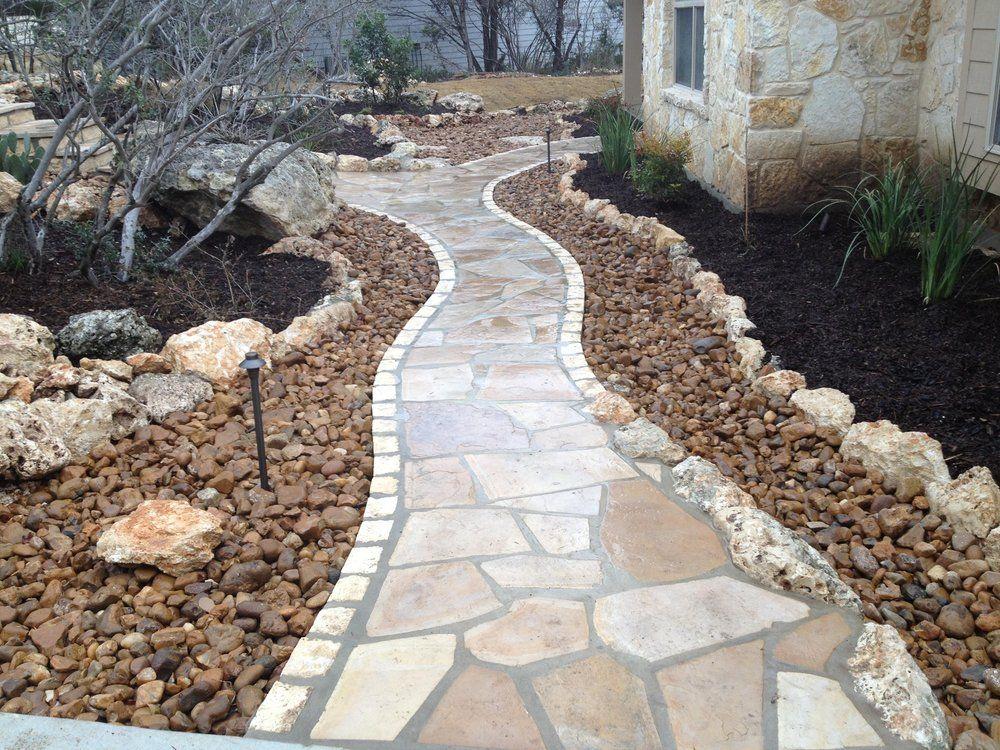 cafe and blanca stone with chopped limestone border on canyon lake yelp