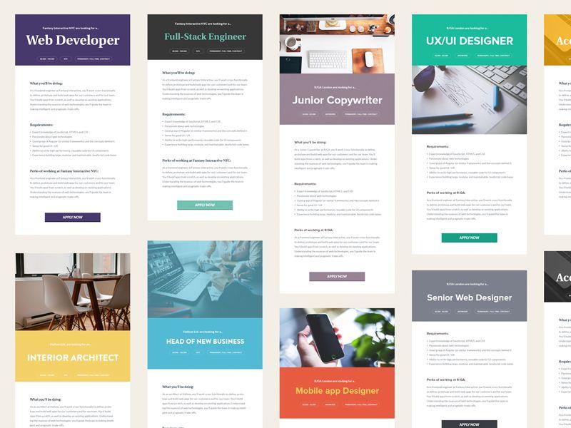 Minimalistic Job Ads Job ads, Promotional design, Ads