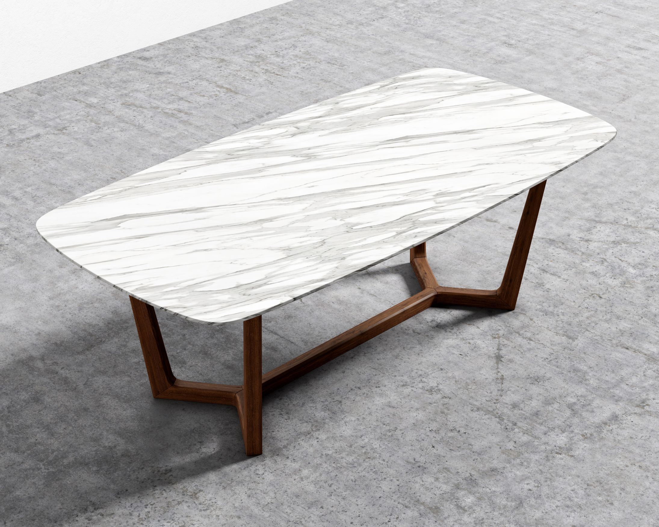 Evelyn Dining Table Rove Concepts Rove Concepts Mid Century